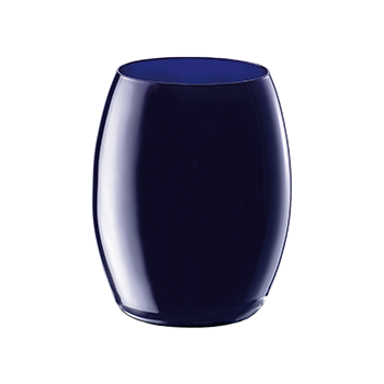 Vaso elip de 35 cl color azul de Giona Premium Glass